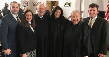 Wayne&#39s First Female Judge Takes Oath of Office