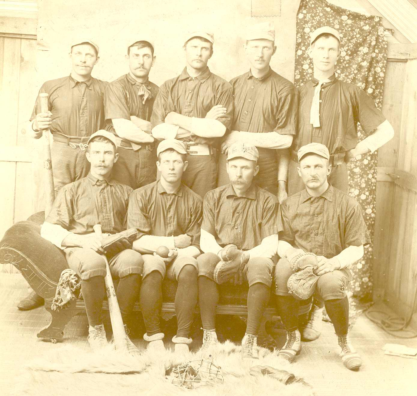Aldenville Baseball Team - 1870 to 1890