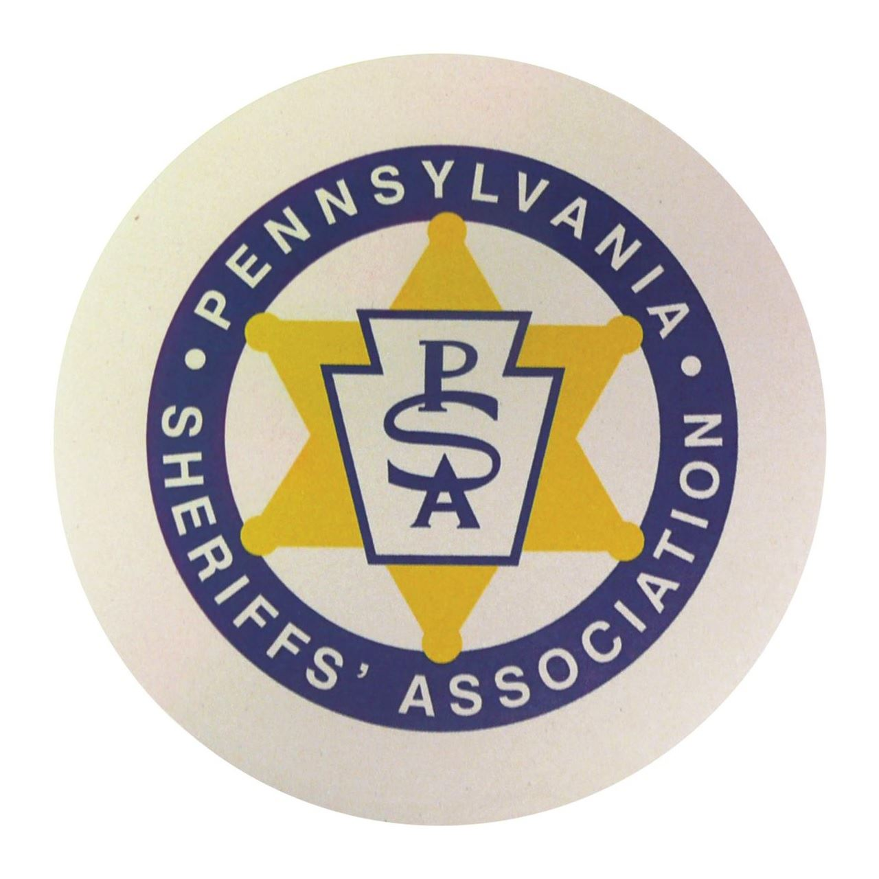 The logo for the PA Sheriff's Association.
