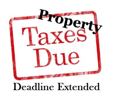 A logo indicating an extension of the deadline to pay taxes with the discount in light of the COVID-