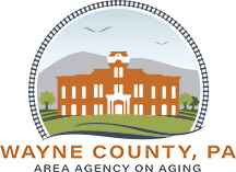 Wayne County, PA Area Agency on Aging Logo