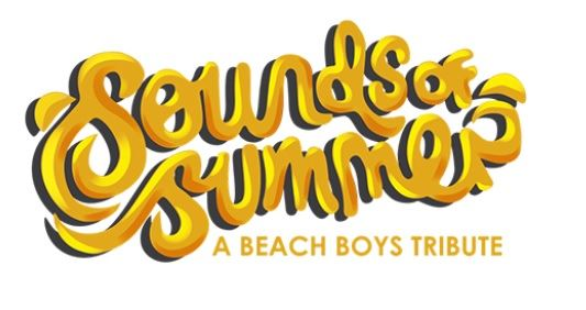 Sounds of Summer logo for Beach Boys tribute band.